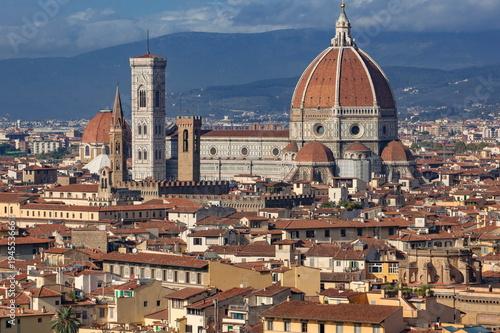 Foto op Aluminium Florence サンタ・マリア・デル・フィオーレ大聖堂