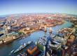 London city, aerial view, United Kingdom - 194562420