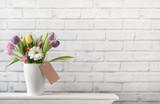 Spring gift flowers - 194576670