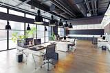 modern cozy loft office