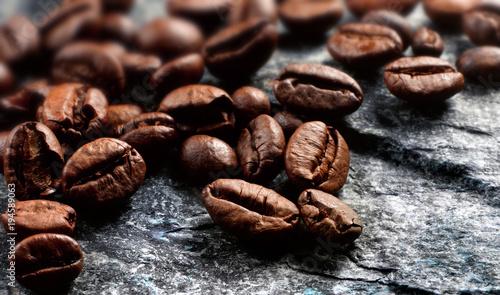 Fotobehang Koffiebonen chicchi di caffe'