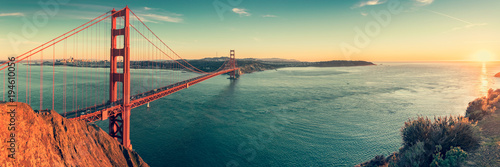 Golden Gate bridge, San Francisco California Poster