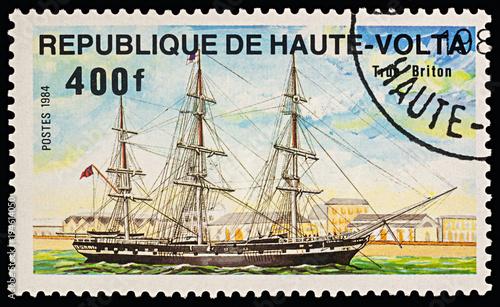 Foto op Canvas Schip Sailing ship