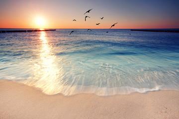 Romantik am Strand genießen