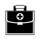 First aids suitcase vector illustration graphic design - 194629657