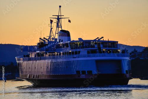 Aluminium Zeilen Ferry Voyage