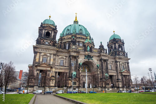 Keuken foto achterwand Berlijn Beautiful view of historic Berlin Cathedral (Berliner Dom) at famous Museumsinsel (Museum Island)