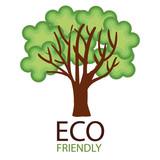 eco friendly environmental label vector illustration design - 194666885