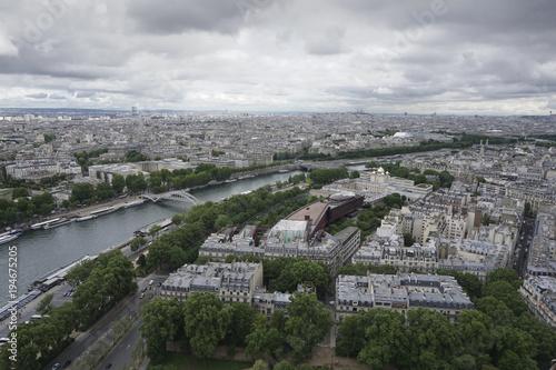 Poster Parijs Paris Panorama