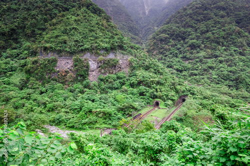 Foto op Canvas Olijf Hualien County/taiwan -december 12, 2017 : Taroko National Park