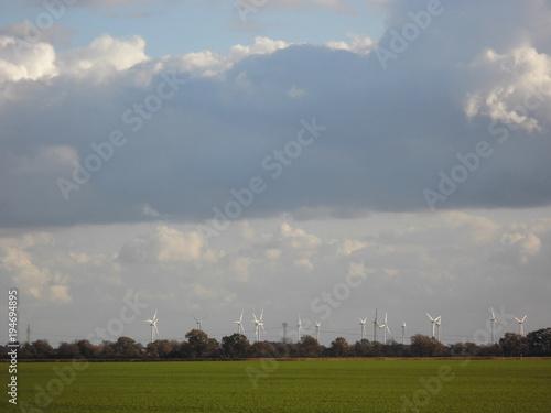 Fotobehang Lente Landschaft