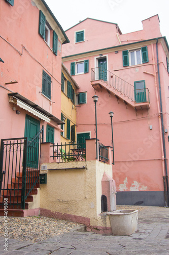 Keuken foto achterwand Liguria Scorcio del borgo di Boccadasse a Genova