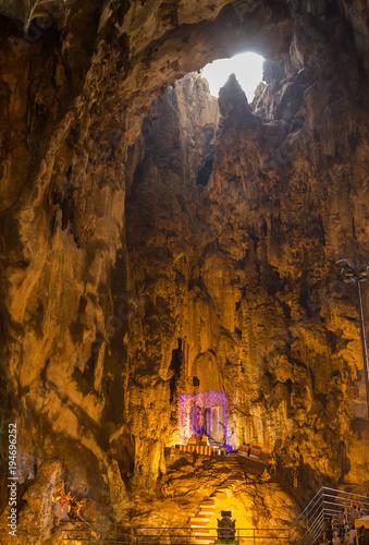 In de dag Kuala Lumpur Batu Caves Temple complex in Kuala Lumpur, Malaysia.