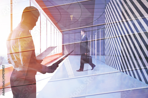 Success and paperwork concept - 194708457