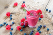 Smoothie aus Obst und Gemüse - Diät - Fasten - Detox