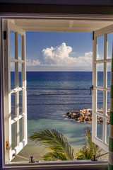 Room with a view, Jamaica, Caribbean