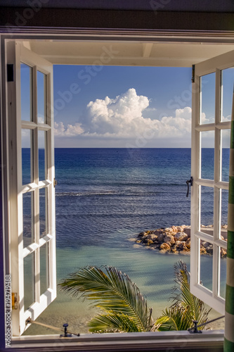Room with a view, Jamaica, Caribbean - 194719488