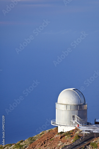 Poster Canarische Eilanden Astronomical Observatories, La Palma