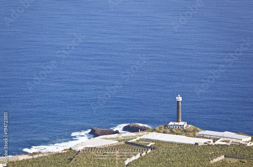 Aluminium Canarische Eilanden La Palma Lighthouse