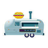 Food Truck Vector Icon