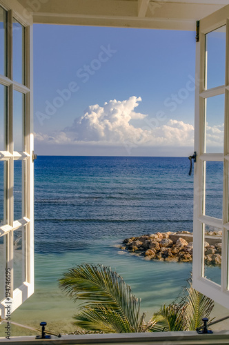 Foto Murales Room with a view, Jamaica, Caribbean