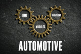 Automotive as combination of HMI, modules and variations