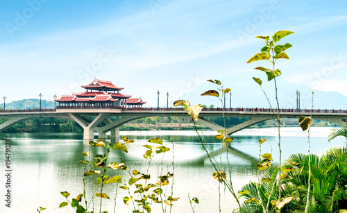 Aluminium Bruggen Chinese traditional style bridge