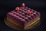 creative cake with fruits and berries - 194796611