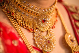 Bride's Jewelery in Indian Wedding