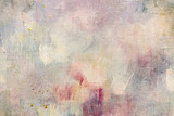 weathered abstract art background with paint splashes and blots - 194805087