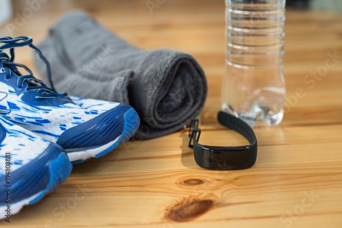 Deurstickers Jogging Joggen