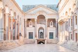 Ancient palace built for the Roman Emperor Diocletian - Split, Croatia - 194813043