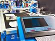 Monitor and keyboard control of laser cutting metal machine