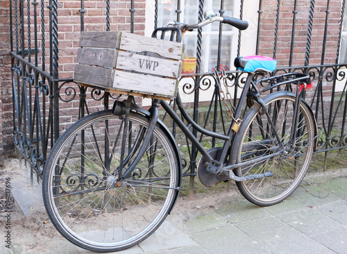 Plexiglas Fiets amsterdam bicycle
