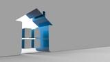 3d house form shape - 194820471