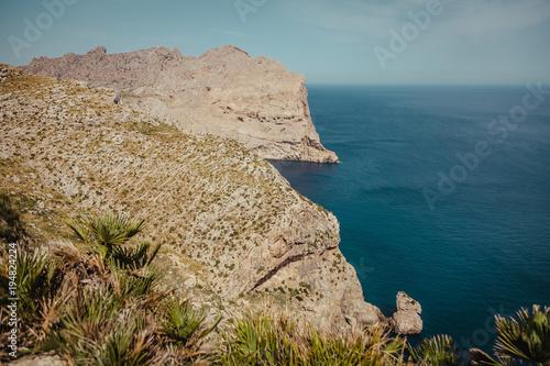 Papiers peints Bleu vert Formentor the coast of mallorca balearic islands