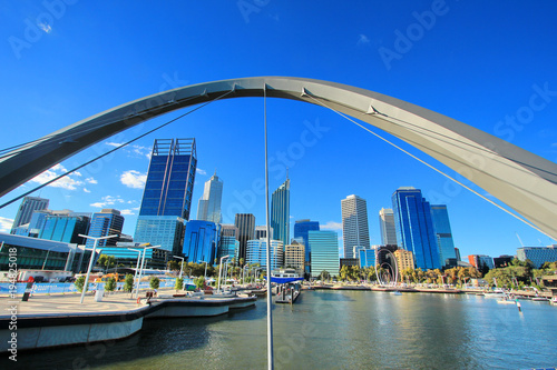 The city of Perth, Australia