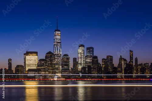 Foto op Aluminium New York Manhattan Sunrise 3