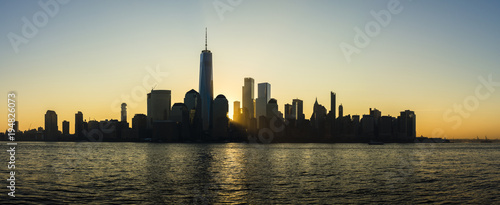 Foto op Aluminium New York Manhattan Sunrise 9