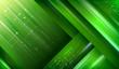Modern green layout background