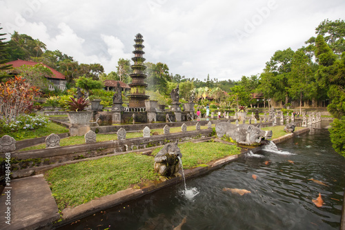 Plexiglas Bali Tirta Gangga water palace, Bali, Indonesia