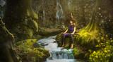 Eine Hexe im Zauberwald - 194848018