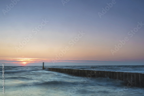 Papiers peints Morning Glory Tagesanbruch an der Ostsee