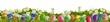 Quadro Ostern Hintergrund - Wiese mit Ostereiern