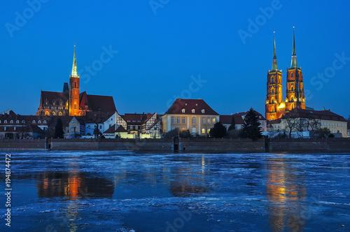 Pocztówka z miasta Wrocław