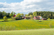 Spring in the countryside of Småland in Sweden