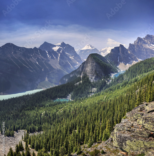 Foto op Canvas Canada Louis Lake, Banff National Park, Canada