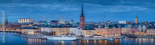 Stockholm Stockholm skyline panorama in twilight, Sweden, Scandinavia