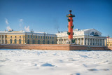 Winter landscape at Saint-Petersburg, Russia - 194888420