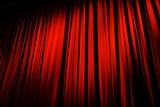 Rideau rouge théâtre